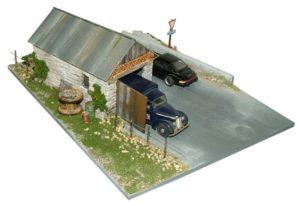 Diorama, kAlassieke auto's