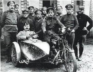 WOI, herdenkingsrit, motorrijders