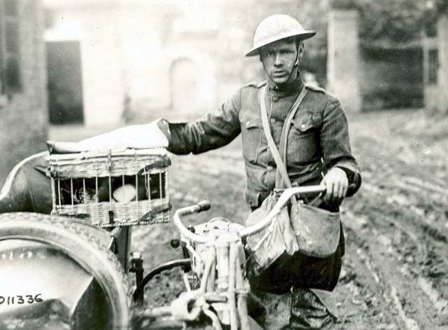 Eerste wereld oorlog, motor ordonans