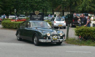 verbrande Jaguar Mk II