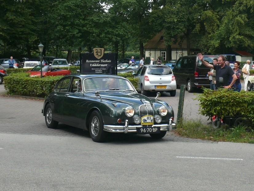 verbrannter Jaguar Mk II