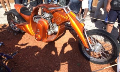 2cv Motorfiets