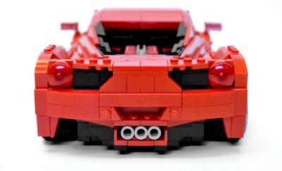Lego Ferrari kont