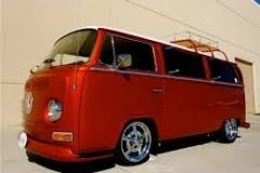 VW BUS ROOD