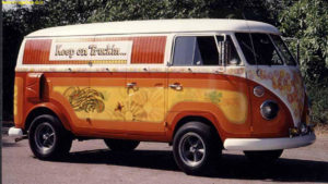 VW BUS, 4 Ever Young