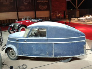 Een heuse elektrische auto op de KlassiekerRAI2015: de Bréguet A2 uit 1942 in originele staat. Foto: Erik van Putten