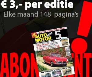 Abonnement op Auto Motor Klassiek
