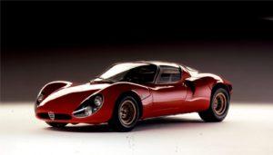 Eén van de kanshebbers op de titel: de 33 Tipo Stradale. Foto: Alfa Romeo