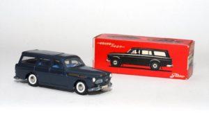 Deze in miniatuur uitgevoerde Volvo 121 van Tekno is haast nog begerenswaardiger dan de 1:1 variant. Foto: NAMAC