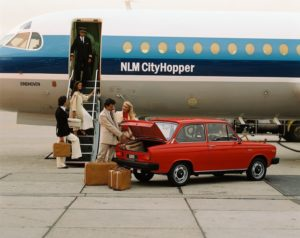 Door Zweden doorontwikkelde Hollandse glorie: de Volvo 66. Foto: Volvo