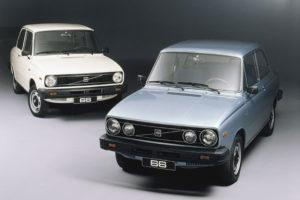 """Een overzichtelijk leveringsgamma. Ten tijde van de introductie was de 66 als DL en GL leverbaar (afgebeelld). Voor het modeljaar 1979 werd spaarversie """"L"""" toegevoegd. Foto: Volvo"""