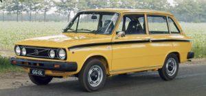 De driedeurs versie van de 66 was goed voor een ongeveer een kwart van de totale productie, welke eind 1980 werd stopgezet. Foto: Volvo