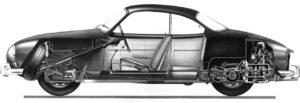 Karmann-Ghia-cutaway