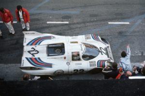 Aanwezig tijdens de Historic Grand Prix in Zandvoort: de Le Mans winnaar van 1971. Het is de Porsche 917 van Gijs van Lennep en Helmut Marko. Foto: Porsche.
