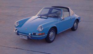 In Zandvoort besteedt Porsche ook aandacht aan het 50 jarig jubileum van de Targa. Foto: Porsche