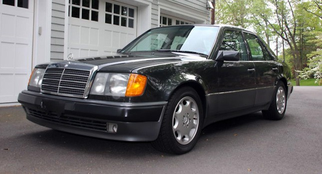 youngtimer review de mercedes 200 500 e klasse 1985 1997 auto motor klassiek. Black Bedroom Furniture Sets. Home Design Ideas