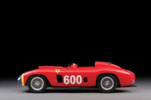 Geveild voor 28 miljoen dollar door RM Sotheby's: de Ferrari 290 MM welke voor de legendarische coureur Fangio werd ontwikkeld. Foto: RM Sotheby's