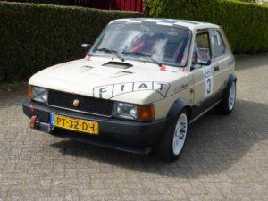 Fiat racertje bij Venema