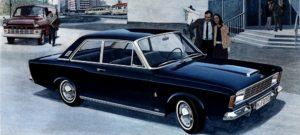 Niet geliefd in de opinie, maar toch goed verkocht in zijn bestaan van slechts tien maanden: De Ford P7a. Afbeelding: Ford