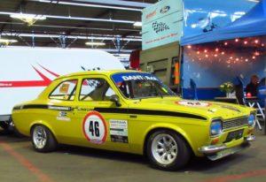 Historic Racing Team van Ginkel bracht deze sublieme Escort Mk1 mee naar Eelde. Foto: Erik van Putten