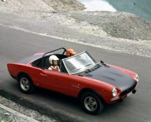 De Fiat Abarth 124 Rally had een goede basisl voor straatgebruik en rallygebruik. Afbeelding: Abarth/FCA