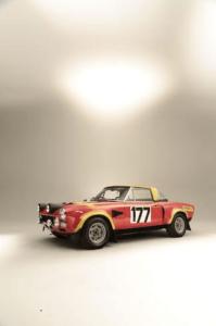 Abarth 124 Rally. Een geheel eigen en sportieve kijk op het thema SportSpider. Afbeelding: Bonhams