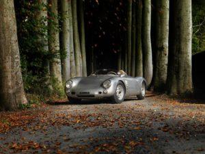 Een schitterende Porsche 550 Spyder wordt in Waregem te koop aangeboden. Foto: Waregem Oldtimer Event/Mathieu Damiens automotive photography