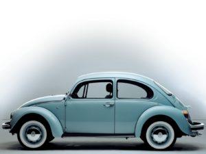 De allerlaatste nieuw geproduceerde Kever was de Ultima Edicion. In juli 2003 markeerde hij het einde van een indrukwekkende productieperiode. Afbeelding: Volkswagen AG