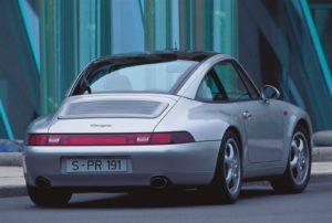 De 911-993 was de laatste Porsche met luchtgekoelde boxermotor. Afbeelding: Porsche