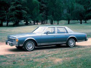 Bijna vijftien jaar lang werd de derde generatie van de Caprice Classic gebouwd. Copyright: The GM Company