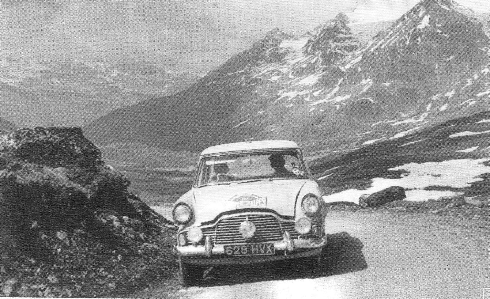 Monte Carlo, Rally, 1956