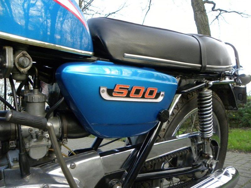 Suzuki T500 logo
