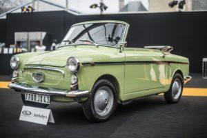 Het is weer eens bewezen. Ook vroeger waren Italianen in staat om ook van kleine auto's meesterlijke creaties te maken. Foto: RM Sotheby's