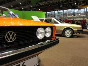 Autostadt Wolfsburg haakte met een aantal tentoongestelde Scirocco's van de eerste generatie handig in op het Keilformthema in Bremen. Afbeelding: Erik van Putten