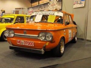 In historische rally's en circuitraces wordt hij nog altijd ingezet: De NSU TTS. ©Erik van Putten