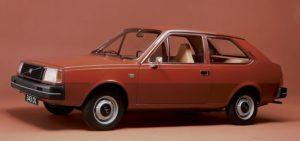 De Volvo 343, zoals hij veertig jaar geleden het levenslicht zag. Afbeelding: Volvo