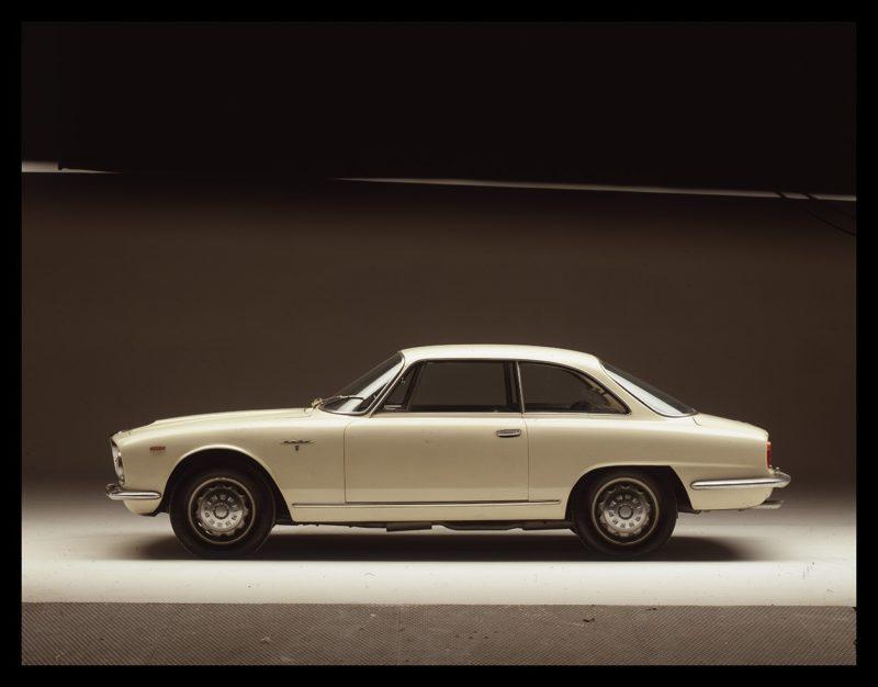 Een prachtige coupé met tijdloze, gestrekte lijnen: De 2600 Sprint van Alfa Romeo. ©Museo Storico Alfa Romeo.