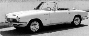 De open variant van de Glas GT. Een typische jaren zestig schoonheid. Afbeelding: BMW AG/Hans Glas Gmbh