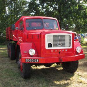 Klassieke vrachtwagens zullen een belangrijke rol spelen tijdens het Noordhollands Oldtimer Festival in Venhuizen. Afbeelding: Erik van Putten
