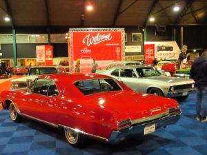 Cars, Coins and Cola verzorgde wederom een indrukwekkende stand. Afbeelding: Erik van Putten