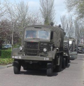 In Venhuizen zal onder meer aandacht besteed worden aan legervoertuigen uit de Tweede Wereldoorlog. Afbeelding: Erik van Putten