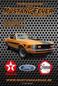 Hier mag en kan je als Mustang fan absoluut niet omheen. Ook de 14e editie van The Mustang Fever in Heusden-Zolder wordt een feest. Afbeelding: The Mustang Garage
