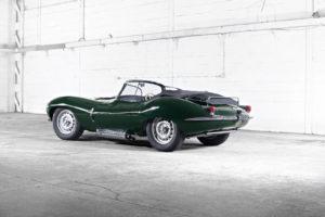 Jaguar Landrover houdt haar erfgoed in ere. Sterker: de Jaguar XK SS wordt in een aantal van negen exemplaren nieuw gebouwd. Afbeelding: Jaguar Landrover
