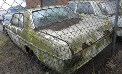Mercedes, verkeerd afgelopen