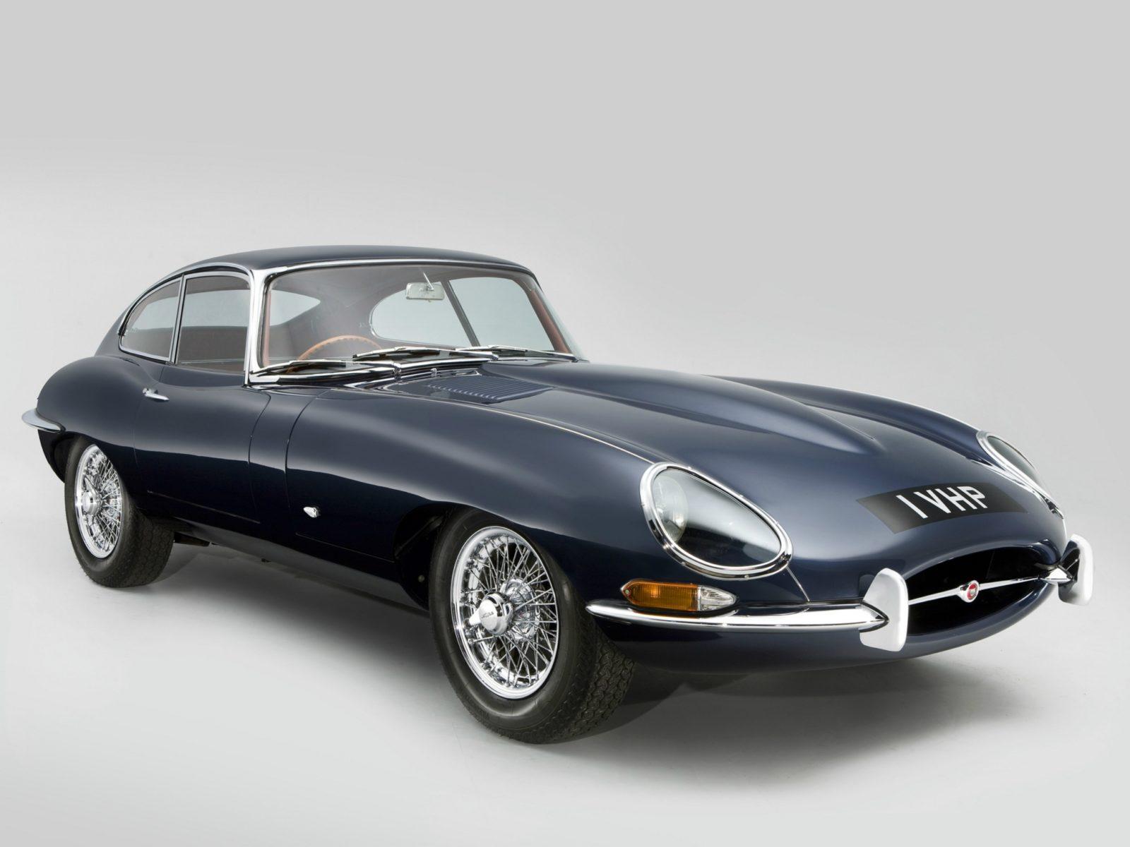 Niet alleen de Jaguar XKE kon genieten van een 'plaknummerbord'