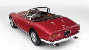 De Ferrari 275 GTB/4 NART. Een exoot. Met een bijbehorend prijskaartje. Afbeelding: RM Sotheby's