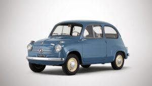 Deze Fiat 600 uit één van de eerste bouwjaren is een exemplaar om te koesteren. Afbeelding: RM Sotheby's