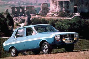 De Renault 12 G -oftewel de Gordini- wordt ook in Apeldoorn aan het publiek getoond. Afbeelding: Renault