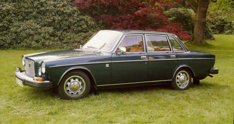 Ongemerkt onderging de Volvo 164 in zeven jaar tijd een stevige gedaanteverwisseling.Dit is de 164 uit één van de laatste bouwjaren. Afbeelding: Volvo