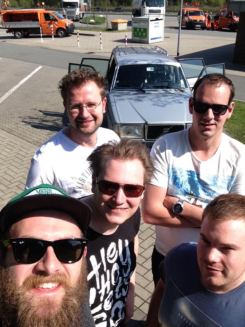 Volvo 240 naar KOPENHAGEN